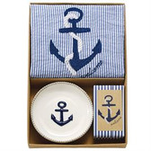 Anchor Towel Soap Set