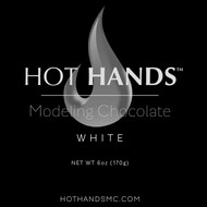 Hot Hands Modeling Chocolate MINI PACK CLASSIC WHITE 6oz