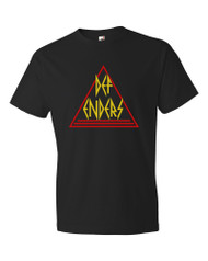 Metal|Comics - Def-Enders (Def Leppard / Defenders) Mens T-shirt