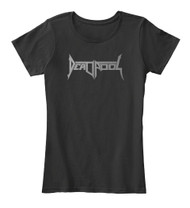 Metal|Comics - Death-Pool (Death Angel / Deadpool) Womens T-shirt