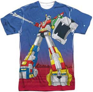 Voltron - Form Voltron - Mens Sublimated Tee