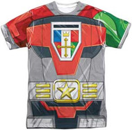 Voltron - Costume - Mens Sublimated Tee