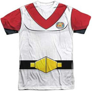 Voltron - Keith Costume Front - Mens Sublimated Tee