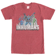 Inhumans - Group Shot - Mens T-shirt