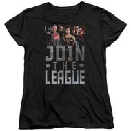 Justice League (Movie) | Join The League | Women's T-shirt