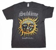 Sublime   Logo Stamp Sun   Men's T-shirt