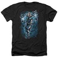 Black Lightning | Black Lightning Bolts | Men's Heather T-shirt