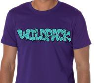 WildPack | Logo |  Men's T-shirt | Purple