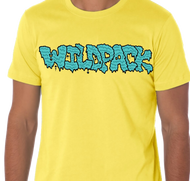 WildPack | Logo |  Men's T-shirt | Yellow