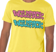 WildPack | Dual Logo |  Men's T-shirt | Yellow