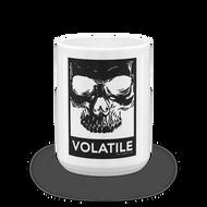 Volatile | Skull | Coffee Mug