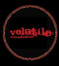 Volatile Snowboards | Logo | 1  inch pin