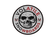 Volatile | Volatile Snowboards Logo | Embroidered Patch