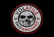 Volatile | Volatile Snowboards Logo | Embroidered Patch