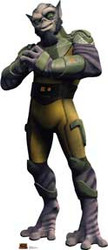 Star Wars Rebels Zeb Cardboard Stand Up