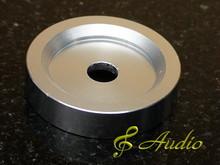 Solid Aluminum Turntable Adaptor for 45 RPM LP Records