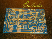 6DJ8 Single End Tube Head Phone Amp Bare PCB for DIY