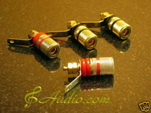 4pairs High Quality Amplifier Mini Binding Post for T-amp