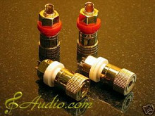 4 pcs High End Audio Binding Post for DIY Amplifier