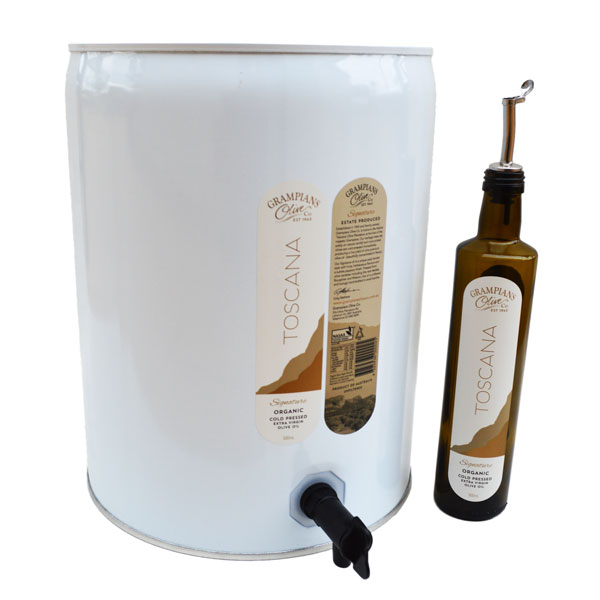 20L drum organic olive oil