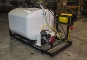 500 Gallon - Mechanical Agitation - 8' Steel Frame - Pickup Mount Electric Reel - D30 Pump - Anti Siphon Fill