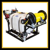 100 Gallon - Pest Control Unit - D30 Pump