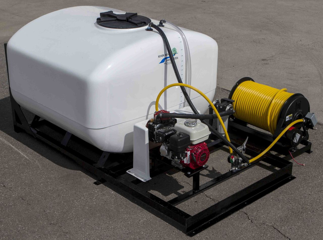 Skid Sprayer 400 Gallon - Mechanical Paddle Agitation