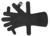 Lead Hand, Adult Size