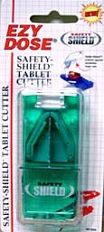 Safety Shield Tablet Cutter