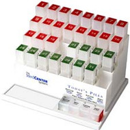 MedCenter System 31 Day Pill Box Organizer