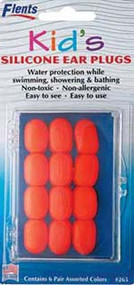 Ezy-Care Infants and Children's Silicone Ear Plugs