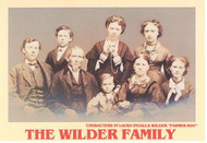 Postcard -Portrait of the Wilder family Wilder