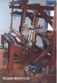 Postcard - Barn-frame loom