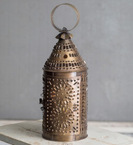 Paul Revere Lantern- antiqued brass