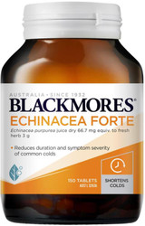 Blackmores Echinacea Forte for colds, flu, and upper respiratory tract infections