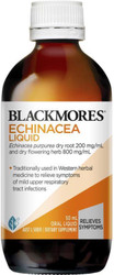 Blackmores Echinacea Liquid is a herbal remedy for colds and chronic infections of the respiratory tract