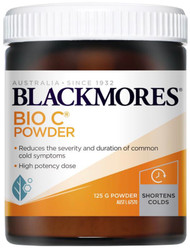 Blackmores Bio C Powder for Cold Relief - colds, flu and hay fever and allergic reactions