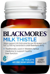 Blackmores Milk Thistle Liver Tonic protects the liver and supports regeneration of liver cells. Also used as a detoxifying agent and aids liver function