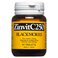 ZinvitC250 Tablets 50 Blackmores