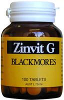 Blackmores Zinvit may assist in the prevention and treatment of zinc deficiencies