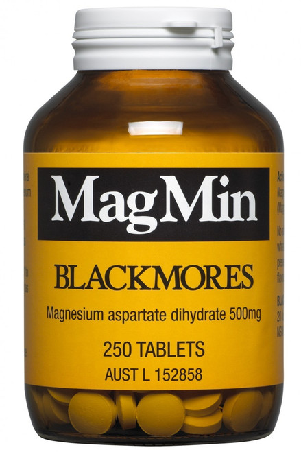 Blackmores MagMin is a Nutritional supplement for Magnesium Deficiency
