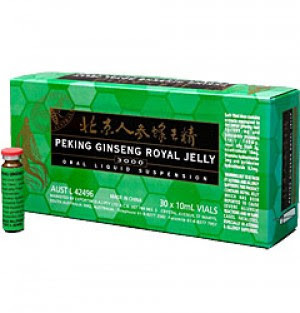 Highest potency quality royal jelly + Ginseng