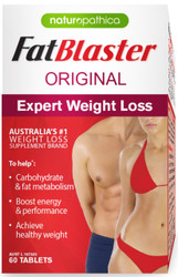Naturopathica FatBlaster aids weight loss by suppressing the appetite, supporting thyroid function, regulating normal glucose levels, assisting in the metabolism of carbohydrates, increasing energy levels and aiding digestion