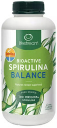 Lifestream Bioactive Spirulina Balance is a Biogenic Wholefood concentrate of dehydrated fresh water blue-green microalgae