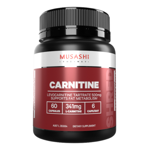 Musashi L-Carnitine transports fatty acids into muscle cells where they are burnt for energy.In any exercise, after an initial carbohydrate fuel burn