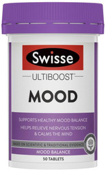 Swisse UltiBoost Mood is effective in the management of mood swings, anxiety and irritability whilst maintaining some level of energy and alertness