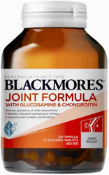 Blackmores Joint Formula with Glucosamine and Chondroitin is potent relief for osteoarthritis symptoms and may act as a building block for cartilage regeneration
