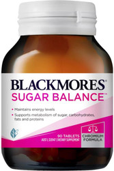 Blackmores Sugar Balance helps reduce cravings for sweet foods and is specially designed to enhance chromium absorption and help balance blood sugar levels