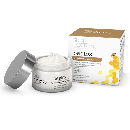 Skin Doctors Beetox actively defies ageing to reduce wrinkles, fine lines and sagging skin