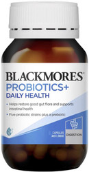 Blackmores Probiotics Plus Daily Health helps restore digestive balance and maintain digestive and intestinal health